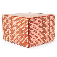 <strong>Jiti</strong> Puzzle Outdoor Ottoman in Orange