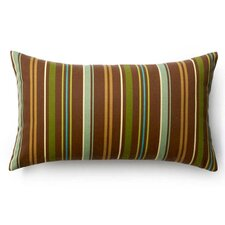 <strong>Jiti</strong> Thin Vertical Stripes Outdoor Decorative Pillow in Brown