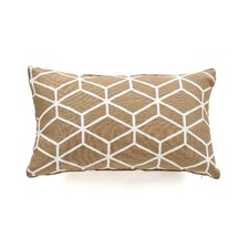 Bethe Tile Linen Pillow
