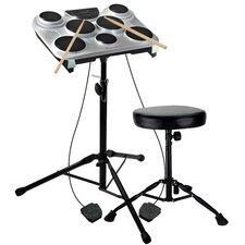 <strong>Ashley Entertainment Corporation</strong> 250 lbs Capacity Drum Throne