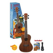 <strong>Ashley Entertainment Corporation</strong> Aloha Concert Size Ukulele