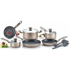 Metallic Bronze 12 Piece Cookware Set
