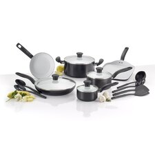 Initiatives Ceramic 16-Piece Cookware Set