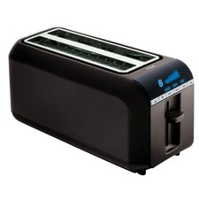 Digital 4 Slice Toaster in Black
