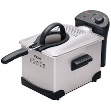 Easy Pro Enamel 3 Liter Deep Fryer in Stainless Steel