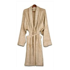 <strong>Pure Fiber</strong> Organic Cotton Terry Bathrobe