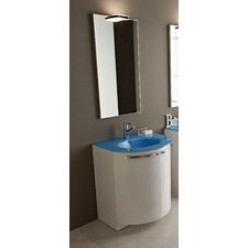 "Archeda II 27.56"" Single Curved Bathroom Vanity Set"