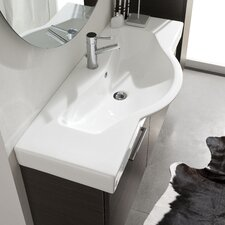 "Light 2 41.3"" x 16.5"" Sink"