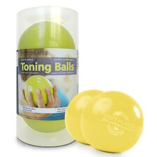 Toning Ball in Lemon