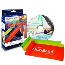 <strong>STOTT PILATES</strong> Non-Latex Flex-Band® 3-Pack Kit