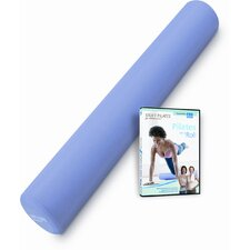 <strong>STOTT PILATES</strong> Foam Roller Deluxe + Pilates on a Roll DVD