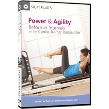 <strong>STOTT PILATES</strong> Power and Agility Reformer Interval on Cardio Tramp Rebounder