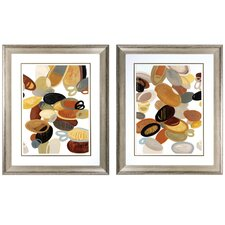 <strong>Propac Images</strong> 2 Piece Organic Study Wall Art Set