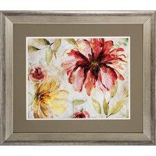 Floral 2 Piece Framed Painting Print Set