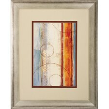Seasons Go 2 Piece Framed Painting Print Set