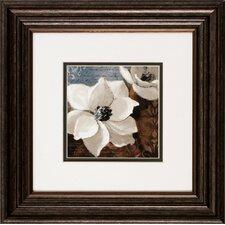 Magnolias I / II 2 Piece Framed Graphic Art Set