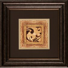 <strong>Propac Images</strong> Scroll Detail I / II Framed Art (Set of 2)