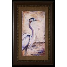 Blue Heron I / II 2 Piece Framed Painting Print Set (Set of 2)