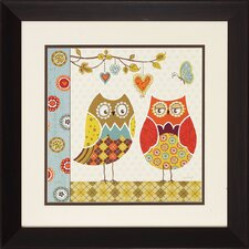 <strong>Propac Images</strong> Owl Wonderful I/II Wall Art (Set of 2)