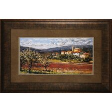 Hillside Olives Framed Art