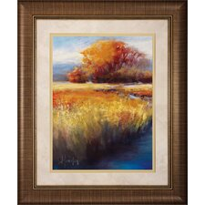 Calming Stream I / II 2 Piece Framed Painting Print Set (Set of 2)