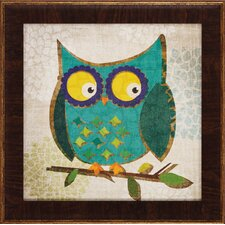 Owls 1 / 2 / 3 / 4 Wall Art (Set of 4)