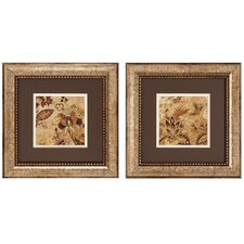 <strong>Propac Images</strong> Floral Beige I/II Wall Art (Set of 2)