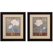 Poppy I / II Wall Art (Set of 2)