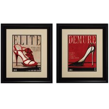 <strong>Propac Images</strong> Elite / Demure Wall Art (Set of 2)