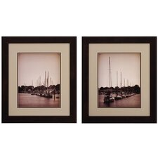 At The Marina I / II Wall Art (Set of 2)