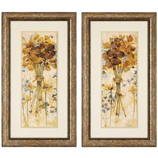 Posies I / II Framed Art (Set of 2)