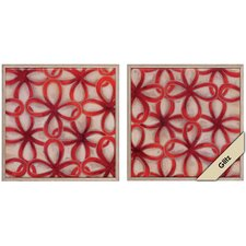 Chain Link I / II Framed Art (Set of 2)