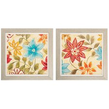 Woodstock I / II  2 Piece Framed Graphic Art Set (Set of 2)
