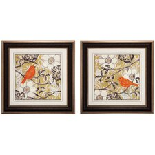 Greenwood I / II 2 Piece Framed Graphic Art Set (Set of 2)