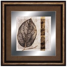 Fall Leaves I Framed Graphic Art