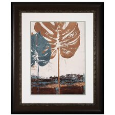 <strong>Propac Images</strong> Blue Leaves II Framed Art