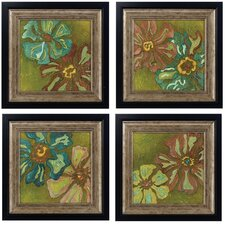 Electre I , II , III and IV Framed Print Set (Set of 4)