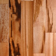 "<strong>Aurora Hardwood</strong> Exotic Smooth 3-1/2"" Engineered Tigerwood"