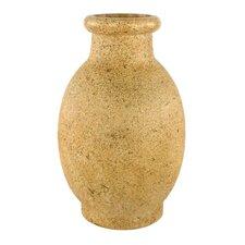 Stoneware Natural Round Floor Vase