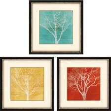 Fallen Leaves by Fontaine 3 Piece Framed Graphic Art Shadow Box Set