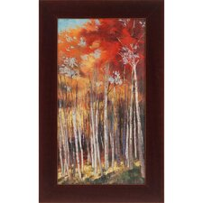 Afternoon Sunlight by Rhoades Framed Painting Print