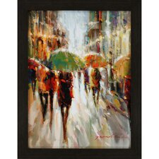 Evening Showers by Jarvis Framed Painting Print