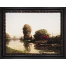 <strong>Paragon</strong> By the Riverside Framed Print - Udell