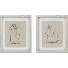 "Nudes by Harper Contemporary Art - 22"" x 26"" - 7050 (Set of 2)"