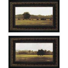 "<strong>Paragon</strong> Resting and Silent by Lightell Landscapes Art - 33"" x 21"" (Set of 2)"