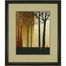 "<strong>Paragon</strong> Trees in Silhouette II by Butler Landscapes Art - 43"" x 37"""