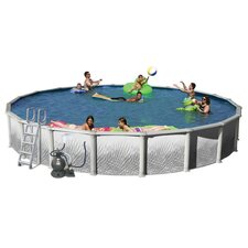 Oval Complete Hamilton Above Ground Pool Package