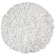 Calypso Jersey White Area Rug