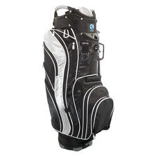 <strong>NuSport</strong> Genesis Cart Bag in Black and Silver