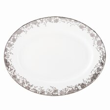 "French Lace 13"" Oval Platter"